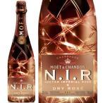(ボトルが光るモエ) モエ エ シャンドン ネクター アンペリアル ロゼ ドライ 750ml (N.I.R) (光るシャンパン スパークリングワイン フランス やや甘口)(正規品)