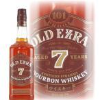 洋酒 ウイスキー whisky オールドエズラ 7年 50.5度 750ml エズラブルックス