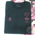 ショッピング24karats 未使用 17年製 F.C.R.B. エフシーアールビー×24KARATS 24カラッツ FCRB-178106 ロゴプリント Tシャツ/トップスS ブラック メンズ