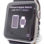 HERMESエルメス  Apple Watch Hermes series 3 スマートウォッチ 42mm シンプルトゥール ヴォー・バレニアストラップ 腕時計