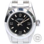 ROLEX ロレックス 67180 W番 OYSTER PERPETUALオイスターパーペチュアル  自動巻き 腕時計 シルバー レディース