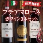 送料無料 プチアマローネ イタリア赤ワイン3本セット