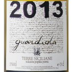 グアルディオーラ 2013 イタリア シチリア州 辛口 白ワイン