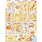 フランス製ワイン ポストカード 全16種類セット UV160AL
