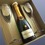 ボランジェ ギフトセット スペシャル キュヴェ ハーフ375ml グラス2脚付き N.V年 ボランジェ(シャンパン)(グラス&ワインギフト)