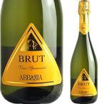 アッバチーア ヴィーノ・スプマンテ ブリュット スパークリングワイン ワイン ギフト プレゼント 贈り物 お祝い お酒 直輸入