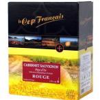 【BOXよりどり6個で送料無料】<赤>ル・セップ・フランセ カベルネ・ソーヴィニヨン バッグインボックス 3000ml ボックスワイン 箱ワイン BOXワイン