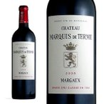 シャトー・マルキ・ド・テルム 2008年 メドック公式格付け第4級 AOCマルゴー 750ml (ボルドー 赤ワイン) 6本お買い上げで送料無料&代引手数料無料