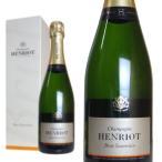 シャンパーニュ アンリオ ブリュット・スーヴェラン 箱入り 750ml (シャンパン 白 箱なし) 6本お買い上げで送料無料&代引手数料無料