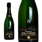 シャンパーニュ ドラピエ キュヴェ・クアトル ブリュット ブラン・ド・ブラン 750ml (シャンパン 箱なし)