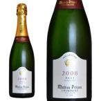 シャンパン マチュー・プランセ プルミエ・クリュ ミレジム2008年 ブリュット 750ml (フランス シャンパーニュ 白 箱なし)