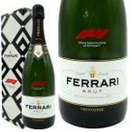 フェッラーリ(フェラーリ) F1 ブリュット (メトッド クラシコ) F1公式スパークリングワイン イタリア DOCトレント 正規品 箱入り