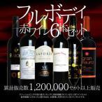 ワインセット ソムリエ厳選 フルボディ極上赤ワイン6本セット 送料無料 同梱不可