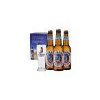 ヒナノビール ロゴ入りグラス付き ヒナノ専用箱入りセット タヒチビール醸造所