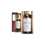 ザ・マッカラン シェリーオーク 12年 40% 700ml ギフトボックス 箱入り 正規 (シングルモルトウイスキー)