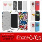 キース・ヘリング iPhone6s / iPhone6 手帳型 レザー ケース Keith Haring Collection Flip Cover 手帳型ケース 手帳ケース キースヘリング キースへリング
