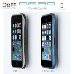 iPhoneSE / iPhone5s/5(アイフォン5s)用 アルミバンパー ケース Deff CLEAVE ALUMINUM BUMPER AERO for iPhone5/5S アイフォンケース アイフォン カバー