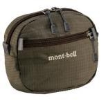 モンベル mont-bell ベルトポーチ カーキブラウン 1123774