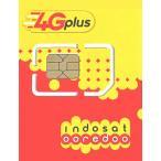 im3 ooredoo インドネシアプリペイドSIM 4G・3Gデータ通信4GB