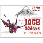 docomo プリペイドSIM /日本 データ通信SIMカード /docomo 回線ロ ーミング接続 / 4G・LTE / 30日 / データ容量10GB