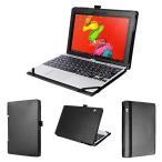 (タッチペン・保護フィルム付) wisers 東芝 Toshiba dynabook N40 NZ40 タブレット 専用 ケース カバー キー...