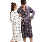 Taomengsi ナイトガウン プレーン フランネル バスローブ 着る毛布 レディース メンズ バスロープ フリース マシュマ ロ ルーム