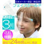 フェイスシールド [子供 キッズ 用]  【3個】 子ども・大人用Sサイズ) 固定式 眼鏡タイプ フェイスガード メガネ型 フェースシールド フェイスカバー
