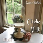 ウッドベースのガラスドーム Croche Middle・クロッシュ ミドル グローヴ ドゥ マリエ | ドール ショーケース インテリア