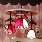 シャンデリア 照明 おしゃれ Princess Heart・プリンセス ハート LED対応 ハート 3灯
