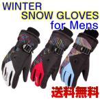 Yahoo!Well-Life Store【5のつく日セール】スキー スノボー 防寒 グローブ メンズ 手袋 ウィンタースポーツ 防水 保温 アウトレット 送料無料 スキー用品 スノーボードグッズ
