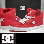 DC SHOES スニーカー ハイカット メンズ PURE HIGH-TOP WC TX SE - RED(RED) 国内正規品