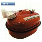 サンピース UN規格 消防法適合品 ガソリン携行缶 容量5リットル SP-NCT-5 【メーカー直送品】【代金引換不可】