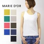 MARIE D'OR マリードール 160/2 極細綿 強撚バイオ加工 スムース タンクトップ 2143