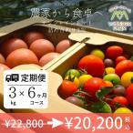定期便 6ヶ月コース サンシャイントマト詰め合わせ3kg