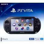 【中古】afb【本体箱説有り】PS Vita (2000)Wi-Fiモデル(ブラック)【4948872413602】