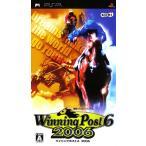 【中古】afb【PSP】Winnig Post6 2006【4988615022692】【シミュレーション】