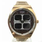 時計 シチズン オルタナ クリストロン ソーラーセル エコドライブ VO10-6643S メンズ 腕時計 【中古】【あすつく】