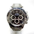 ロレックス デイトナ 16520 W番 黒文字盤 自動巻 時計 腕時計 メンズ 【中古】【あすつく】