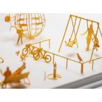 メール便発送 TERADA MOKEI 1/100建築模型用添景セット No.18 公園編2   かみの工作所 テラダモケイ