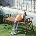 ベンチ 縁台 イス アンティーク 古木 ガーデンファニチャー おしゃれ ガーデンベンチ 天然木 木製ベンチ アイアン レトロ カフェ