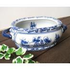 陶器鉢 水鉢 睡蓮鉢 水盤  和モダン アジアン ビオトープ おしゃれ 小の画像