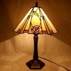 ステンドグラス マッキントッシュローズ バラ 薔薇 インテリアランプ おしゃれ アンティーク テーブルランプ 照明 ガラス照明