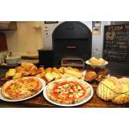ピザ窯ベイクック「シェフ」はパン焼きオーブンがついてピザ専門店もパン屋さんに使えます