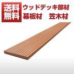 【ウッドデッキ】【送料無料】【人工木】【人工木材】【樹脂ウッドデッキ】幕板材 笠木材 SW11