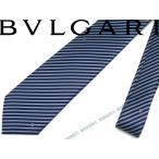 BVLGARI ブルガリ ネイビー ネクタイ 241898
