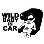 BABY IN CAR ワイルドベイビー ステッカー