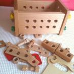 プレイミー トレジャーボックス 大工さんごっこ PlayMeToys 木のおもちゃ