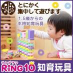 はじめてのつみき RING10 リング・テン つみきの王国 積み木 知育玩具 木のおもちゃ WOODYPUDDY  ウッディプッディ直営店