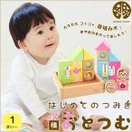 はじめてのつみき おとつむ 積み木 知育玩具 木のおもちゃ WOODYPUDDY ウッディプッディ直営店 送料無料