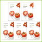 [NATURE REPUBLIC]ネイチャーリパブリック リアルネイチャー マスクシート トマト 5枚 Real Nature Mask Sheet Tomato 5 sheets